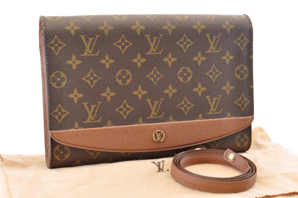 LOUIS VUITTON Monogram Bordeaux PM Shoulder Bag M51798 LV Auth 3624 ... 55d601379ae