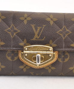 best website 2a13f 37166 LOUIS VUITTON Monogram Etoile Portefeuille Sarah Wallet M66556 LV Auth 6251