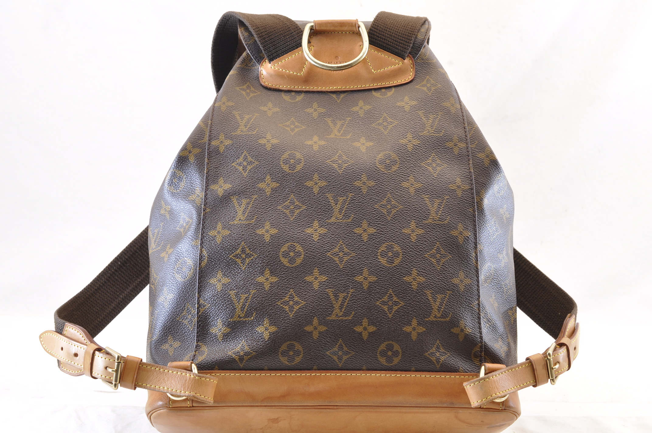 1b7c4cfd99bd LOUIS VUITTON Monogram Montsouris GM Backpack M51135 Auth LV 6213 – Brand  Street