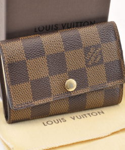 58a0ed53081a LOUIS VUITTON Damier Multicles 6 Keys Case N62630 LV Auth 6515 – Brand  Street