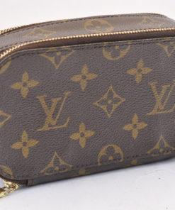 28942432ac73 LOUIS VUITTON Monogram Trousse Blush PM Cosmetic Pouch  CAUTION  6969 –  Brand Street
